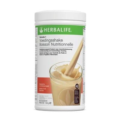 Formula 1 Voedingsshake → Herbalife F1 Shake goedkoop bestellen - Onafhankelijk Herbalife Member