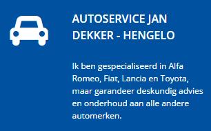 Winterbanden Hengelo - Autoservice Jan Dekker